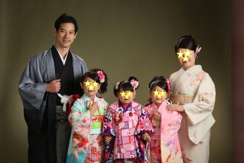 大堀 亮造の家族写真